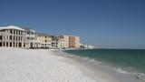 Homes And Condos Along Destin Beach, Florida