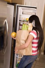 grapefruit fridge