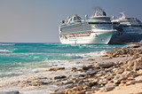 Cruise Ships in Grand Turk Port poster