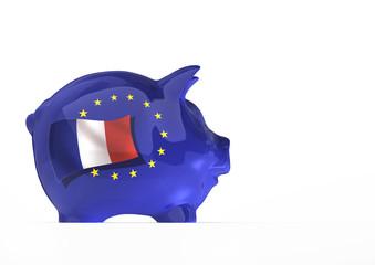 EU Sparschwein, Frankreich