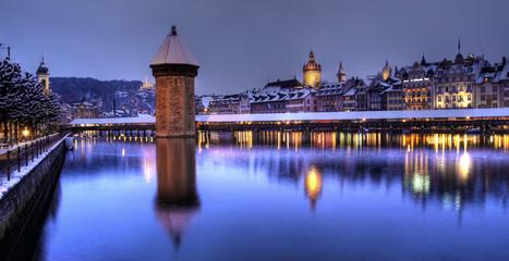 Lucerne panoramic, Switzerland
