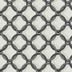 chain motif seamless background