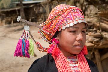 Akha Frau in Laos
