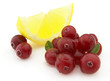 Lemon with cranberry
