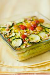 vegetable gratin(quiche)