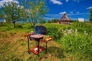 BBQ in the open