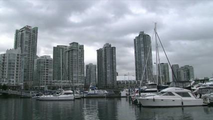 Vancouver Marina Time Lapse