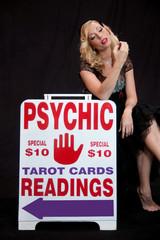 Woman psychic