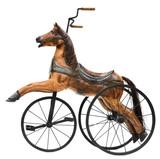 Old Horse Tricycle Bike poster