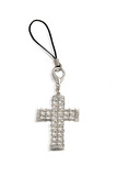 Pendant in form of cross from Cell Phone. poster