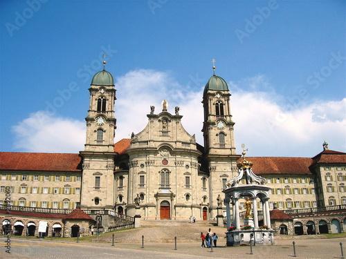 Klosterkirche in der Schweiz.