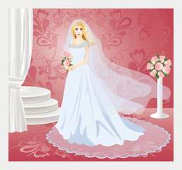 Bride, vector