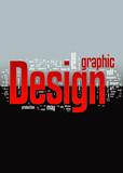 Graphic Design Background poster