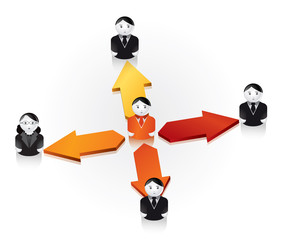 reseaux sociaux / relation de travail