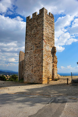 castle of hyeres tower
