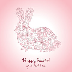 Easter Rabbit Pink