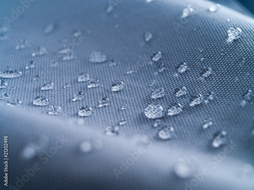 waterproof textile clothing blue