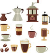 Coffee icons set - 3