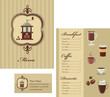 Coffee menu template - 2