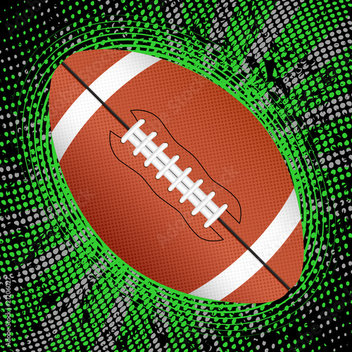 abstract american football