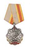 medal of Labor glory of soviet union poster
