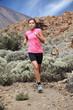 Running - Woman trail runner
