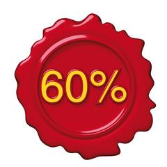 sigillo rosso 60 per cento
