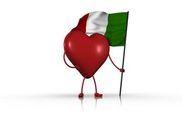 italiano nel cuore