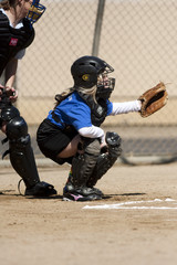 Catcher in Action