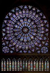 Rose Nord de Notre-Dame de Paris
