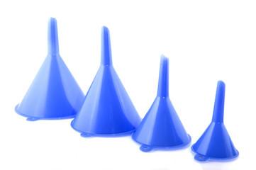 Blue funnels
