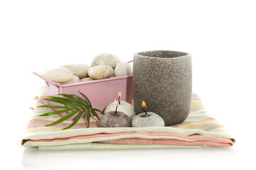 Wellness in gray and pink