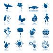 Nature icon set