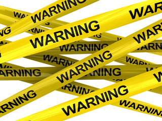warning ribbons