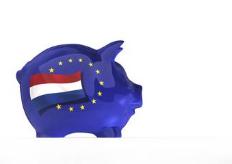 EU Sparschwein, Holland