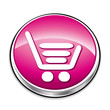 Pink shopping cart.