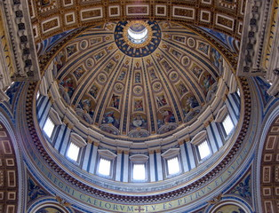Vatican Church Ceiling