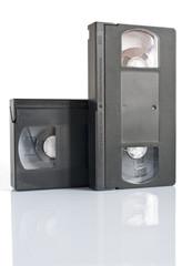 2 video cassette (con clipping path)