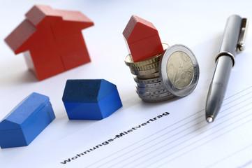 Mietvertrag für neue Wohnung