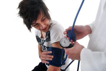 Consultation médicale - Tensiomètre