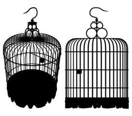 Bird Cage Vector 01