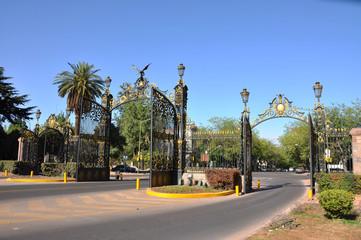 Entrata del Parco San Martin - Mendoza - Argentina