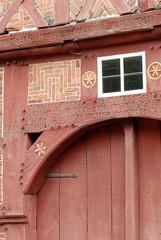 Tor, Fachwerkhaus, Scheune