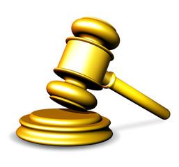Martello del Giudice-Golden Hammer-Marteau Tribunal