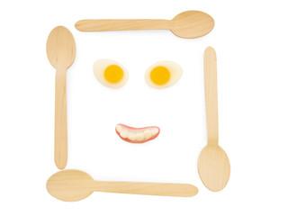 Smiling food