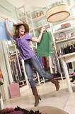 Fototapety Dancing in a shop