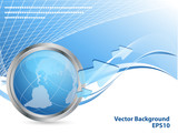abstract vector background with copy space. Eps10 poster