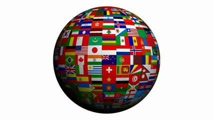 World flags - Looping