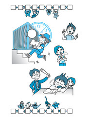 数学イメージ.イラスト02