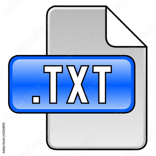 Icon TXT-Dokument by Dirk Schumann, Royalty free stock ...